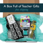 Box full of Designer Product Teacher Gifts
