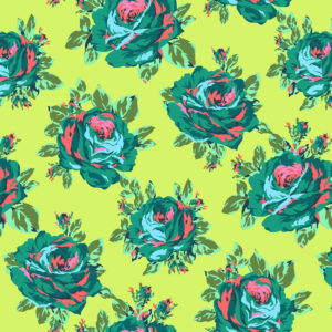 Amy Butler Eternal Sunshine Pwab160-rose-lore-lemon