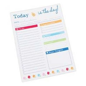 Its Sew Emma Today is The Day! Notepad