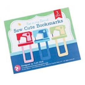 Sew Cute Bookmarks by Lori Holt of Bee in my Bonnet